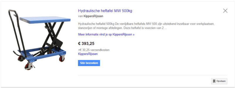 Kippers Rijssen - Google Shopping Optimaliseren